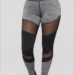 Fashion Nova Krysten Active Leggings